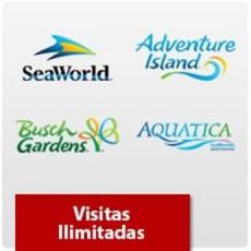 SeaWorld Orlando - Visitas Ilimitadas - Acima de 3 anos